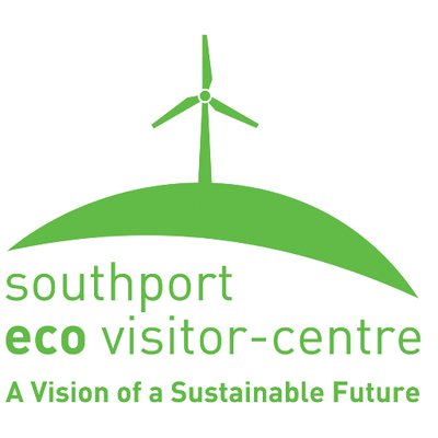 Southport Eco Centre logo, green text against a white background